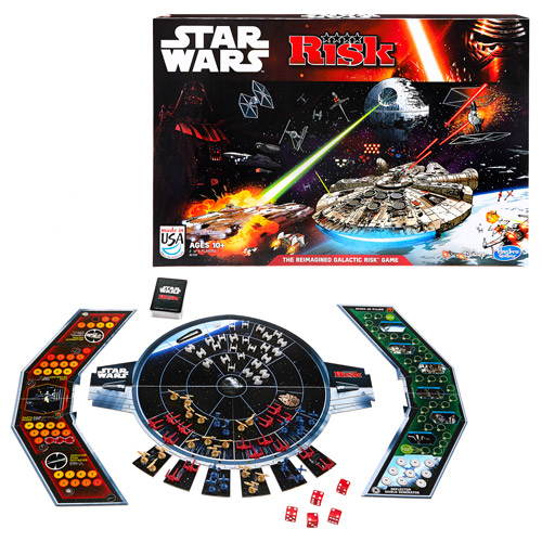 Star Wars The Force Awakens Risk Game, Not Mint