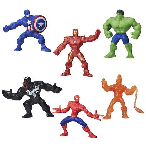 Marvel 500 Blind Bag Micro Figures Wave 1 6-Pack