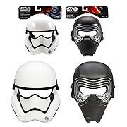 Star Wars Episode VII The Force Awakens Masks Wave 1 Set