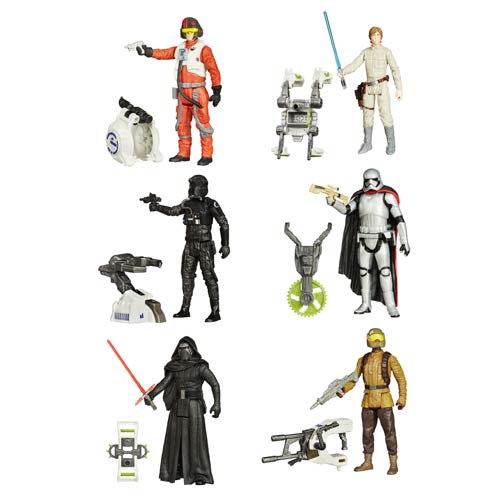 Star Wars TFA Jungle and Space Action Figures Wave 1 Case
