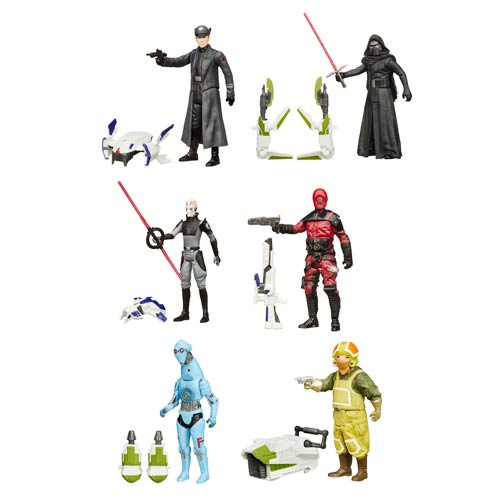 Star Wars TFA Jungle and Space Action Figures Wave 2 Case