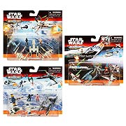Star Wars Episode VII The Force Awakens MicroMachines DX Vehicles Wave 1