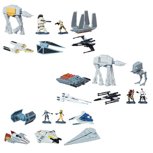 Star Wars Rogue One MicroMachines DX Vehicles Wave 4 Case