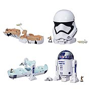Star Wars Episode VII The Force Awakens MicroMachines Playsets Wave 1