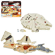 Star Wars Episode VII The Force Awakens MicroMachines Millennium Falcon