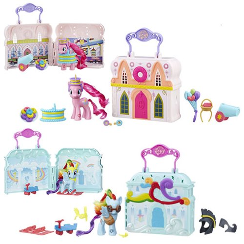 My Little Pony Explore Equestria Playsets Wave 2 Set