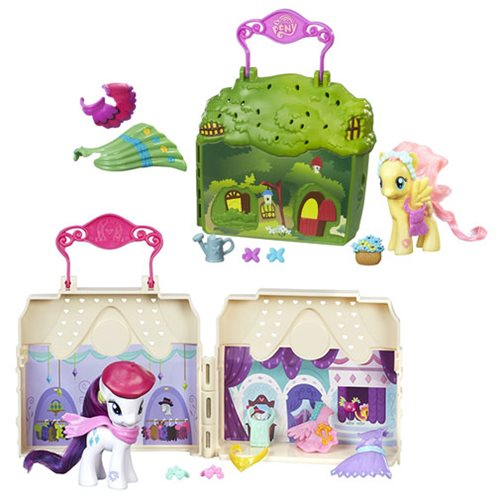 My Little Pony Explore Equestria Playsets Wave 3 Set