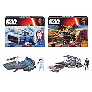 Star Wars Episode VII The Force Awakens Class II Vehicles Wave 1 Case