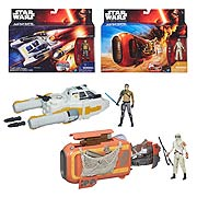 Star Wars Episode VII The Force Awakens Deluxe Class I Vehicles Wave 1