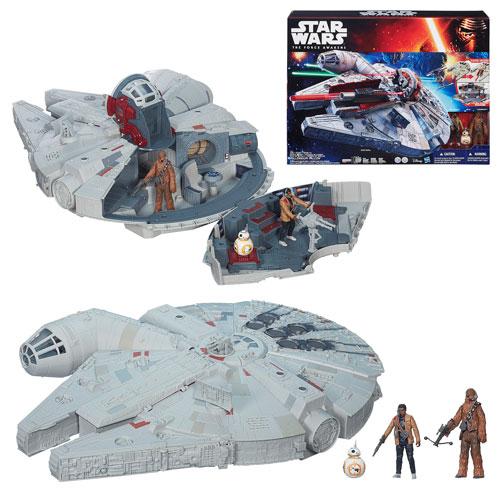 Star Wars Véhicules Millenium Falcon de Hasbro