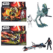 Star Wars Episode VII The Force Awakens Class I Vehicles Wave 1 Set