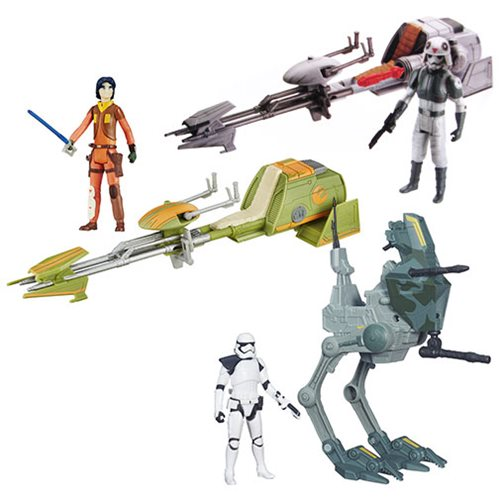 Star Wars Rogue One Class I Vehicles Wave 1 Case