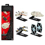 Star Wars Episode VII The Force Awakens Black Series Titanium Series Vehicles Gift Set