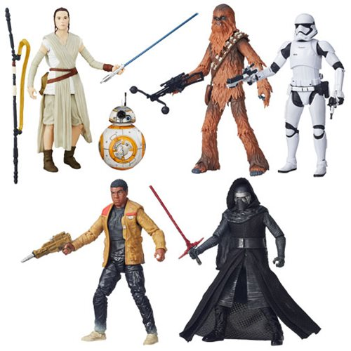 Star Wars TFA Black Series 6-Inch Action Figures Wave 1 Case