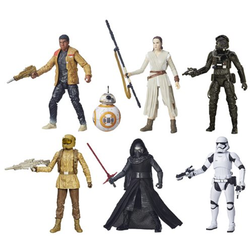 Star Wars TFA Black Series 6-Inch Action Figures Wave 3 Case