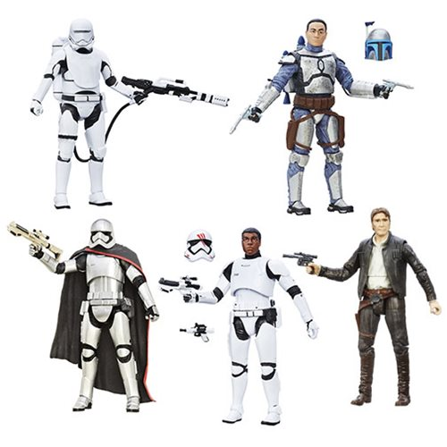 Star Wars TFA Black Series 6-Inch Action Figures Wave 5 Case