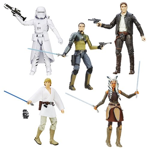 Star Wars TFA Black Series 6-Inch Action Figures Wave 6 ...