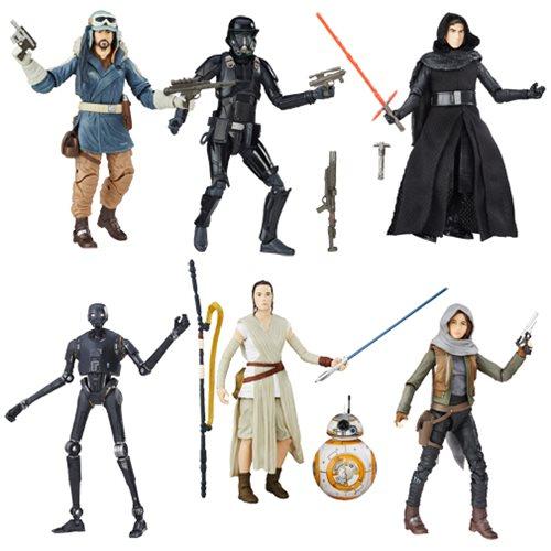 Star Wars The Force Awakens Black Series 6 Inch Wave 2 Finn NIB In Hand Jakku