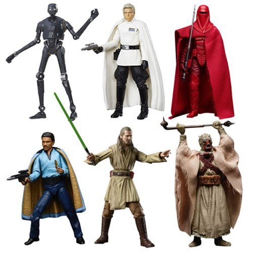 Star Wars The Black Series 6-Inch Action Figure Wave 11 Case