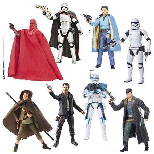 Star Wars The Black Series 6-Inch Action Figure Wave 15 Case