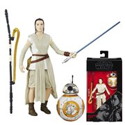 Star Wars Force Awakens Black Series Rey 6-Inch Figure