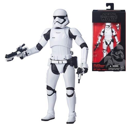 Star Wars Force Awakens Black Series Stormtrooper Figure
