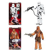 Star Wars Episode VII The Force Awakens Hero Series Deluxe Action Figures Wave 1 Set