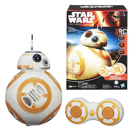 Star Wars: TFA RC Radio Control BB-8 Droid, Not Mint
