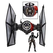 Star Wars Episode VII The Force Awakens Black Series First Order TIE Fighter Vehicle
