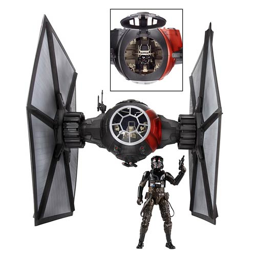 wars tfa black series order tie fighter vehicle