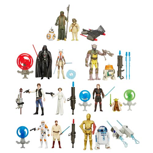 Star Wars TFA Action Figure 2-Packs Wave 1 Case