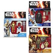 Star Wars Episode VII The Force Awakens Action Figure 2 Packs Wave 2 Case