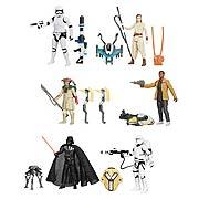 Star Wars Episode VII The Force Awakens Snow Desert Figures Wave 1 Set