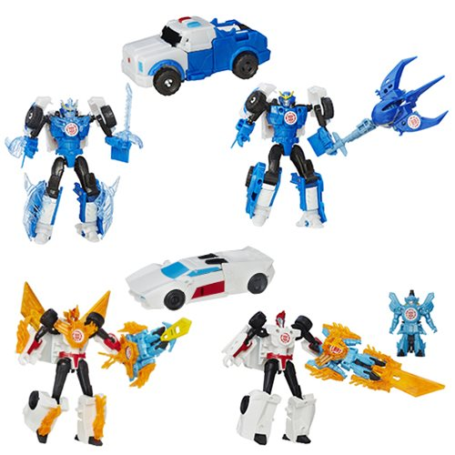 Transformers Robots in Disguise Battle Packs Wave 3 Set