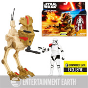 Star Wars Desert Assault Walker with Figure EE Exclusive