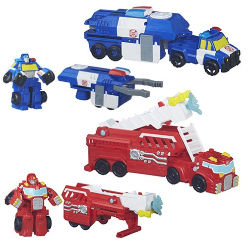 Transformers Rescue Bots Rescue Rigs Wave 1 Case