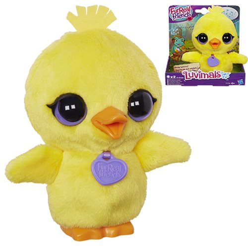 FurReal Friends The Luvimals Flappers the Duck Pet