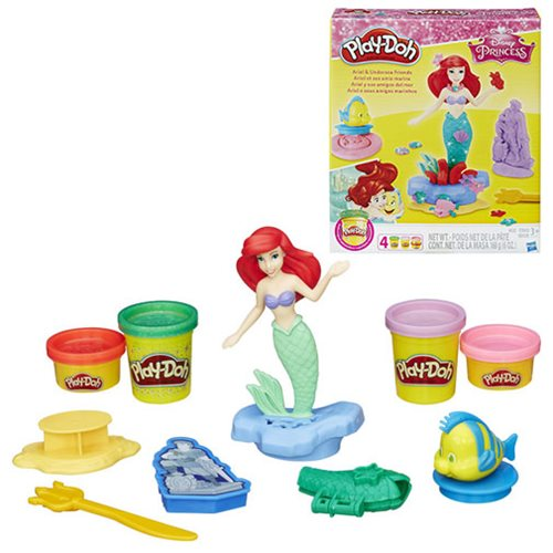 Disney Princess Ariel and Undersea Friends Play-Doh Set