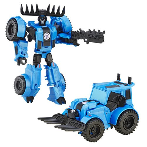 Transformers RID Warrior Weaponizers Thunderhoof, Not Mint