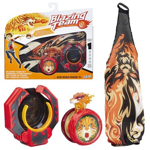 Blazing Team Blazing Tiger Yo Yo Set Hasbro Blazing