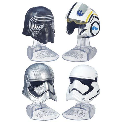 Star Wars Black Series Die-Cast Metal Helmets Wave 1 Set