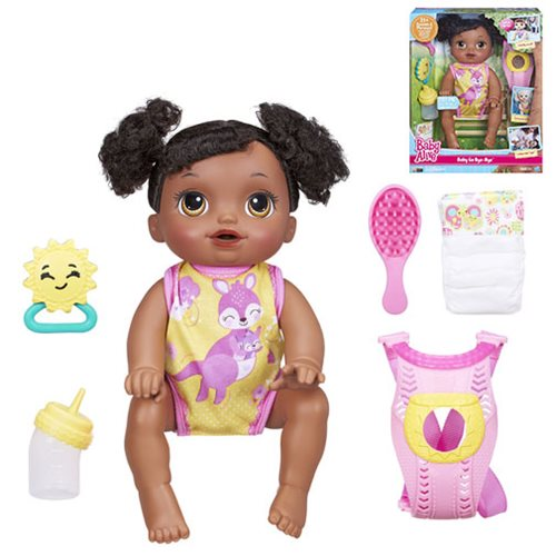Baby Alive Baby Go Bye Bye African American Doll Hasbro Baby Alive Dolls At Entertainment