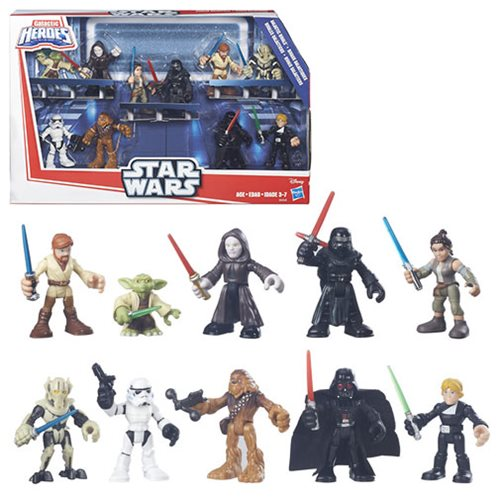 Star Wars Galactic Heroes Rivals Jedi vs. Sith Set