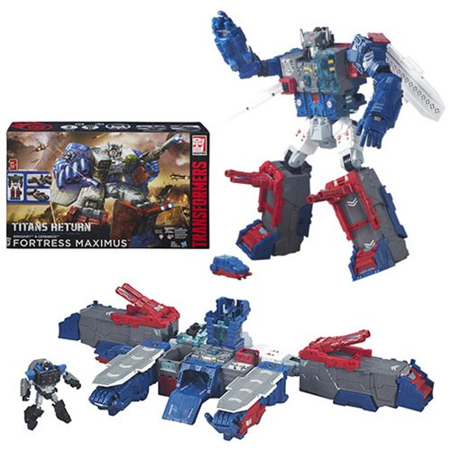 Transformers Generations Titans Return Fortress Maximus