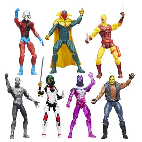 Marvel Legends 3 3/4-Inch Action Figures 2016 Wave 2 Case