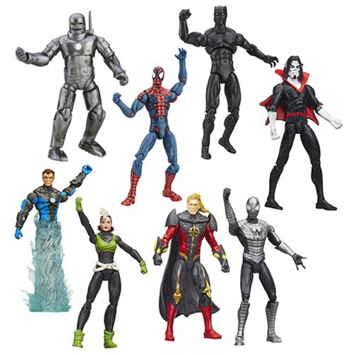 Marvel Legends 3 3/4-Inch Action Figures 2016 Wave 3 Case