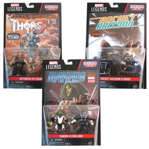 Marvel Legends 3 3/4-Inch Comic Packs Action Figures Wave 3