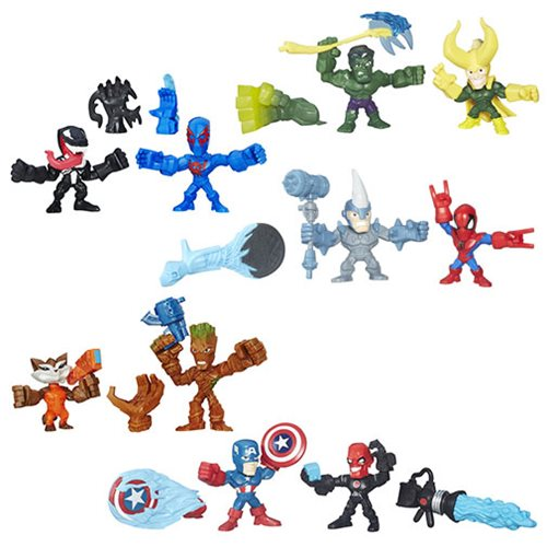 Marvel Super Hero Mashers Micro Figure 2-Packs Wave 2 Case