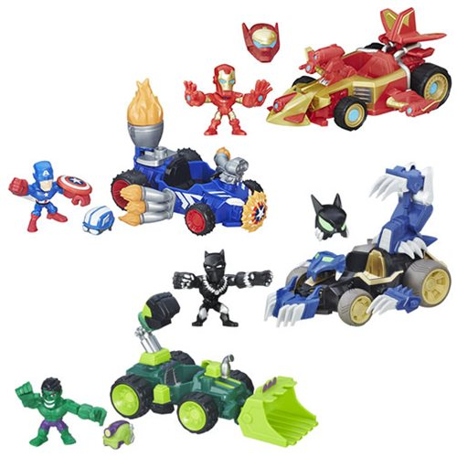 ... Wave 2 Rev. 1 Case - Hasbro - Marvel - Vehicles at Entertainment Earth
