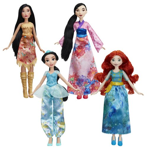 Disney Princess Classic Fashion Dolls B Wave 3 Set